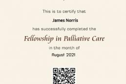 Fellowship in Palliative Care